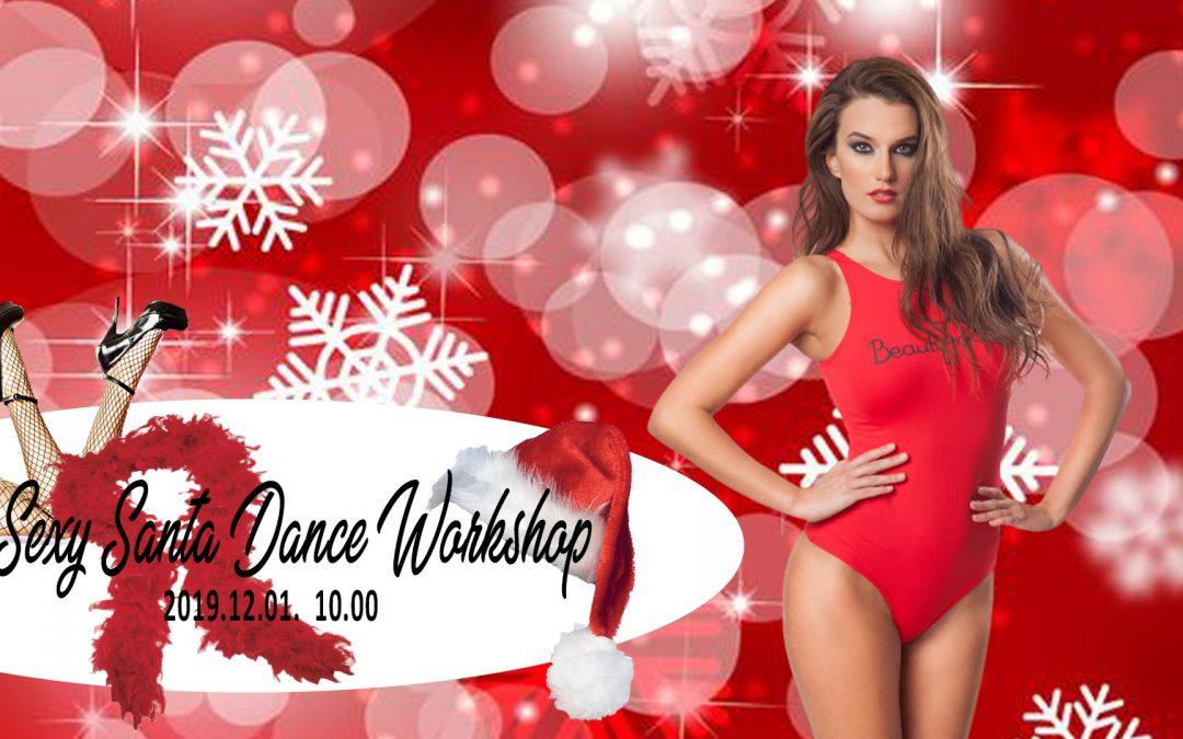 SEXY SANTA DANCE WORKSHOP a Beautyrobic Központban